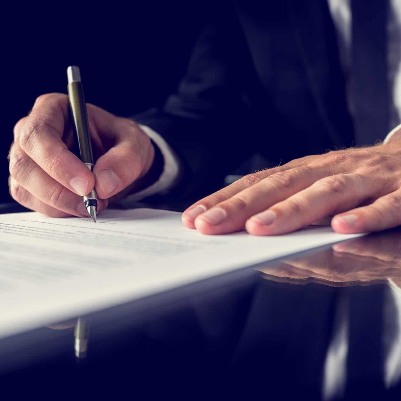 Firma documenti legali